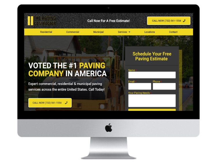 The Paving Contractor Website